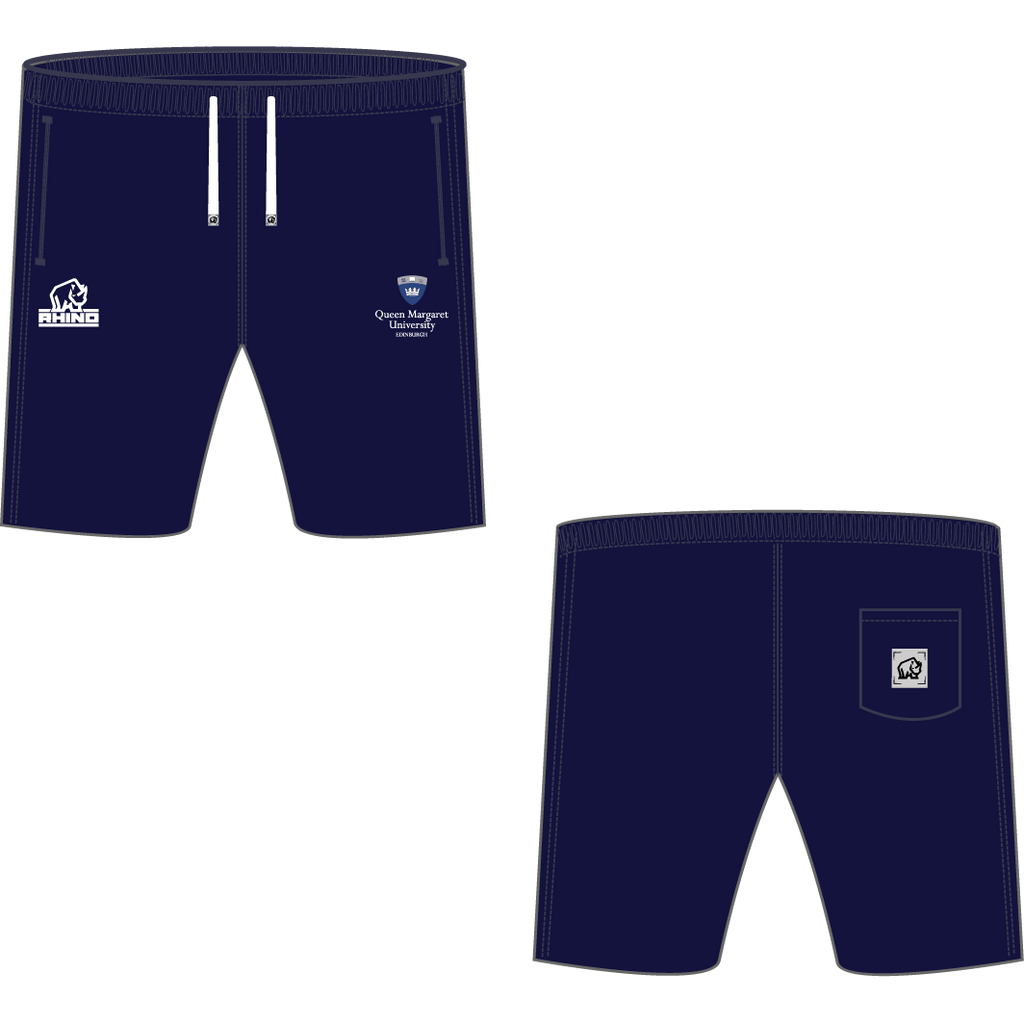 Queen Margaret University Men's Rugby Marbella Shorts - rhino-direct-2.myshopify.com