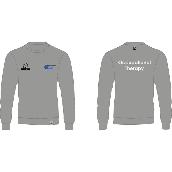 Queen Margaret University Occupational Therapy Society Milan Sweatshirt - rhino-direct-2.myshopify.com
