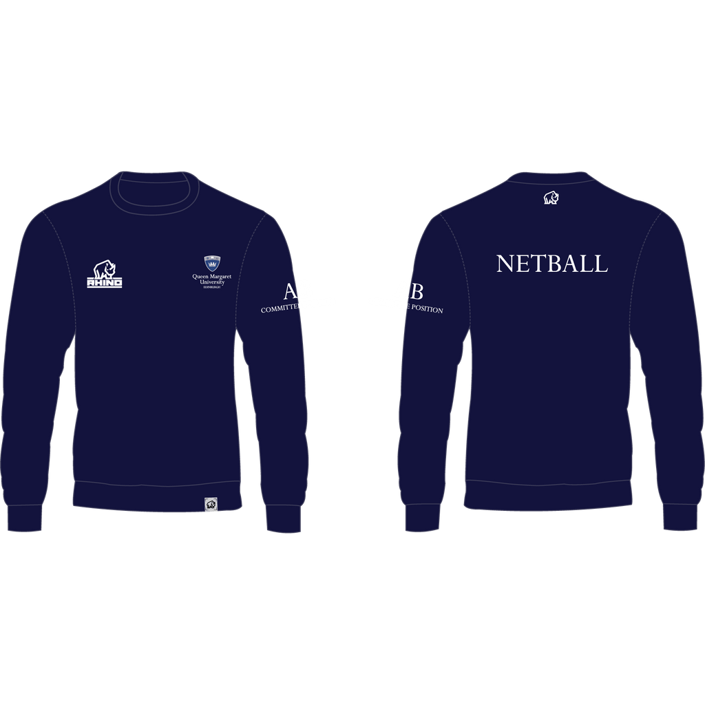 Queen Margaret University Netball Milan Sweatshirt
