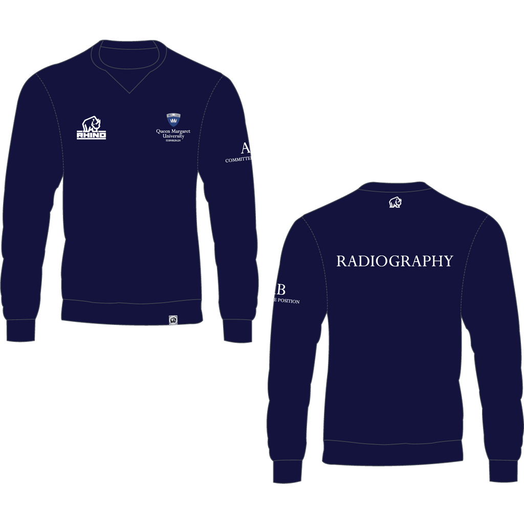 Queen Margaret University Radiography Milan Sweatshirt - rhino-direct-2.myshopify.com