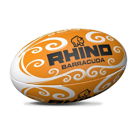 Barracuda Orange Beach Rugby Ball - Rhino Direct