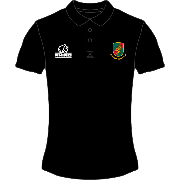 Highland RFC Women's Polo Shirt - Rhino Direct