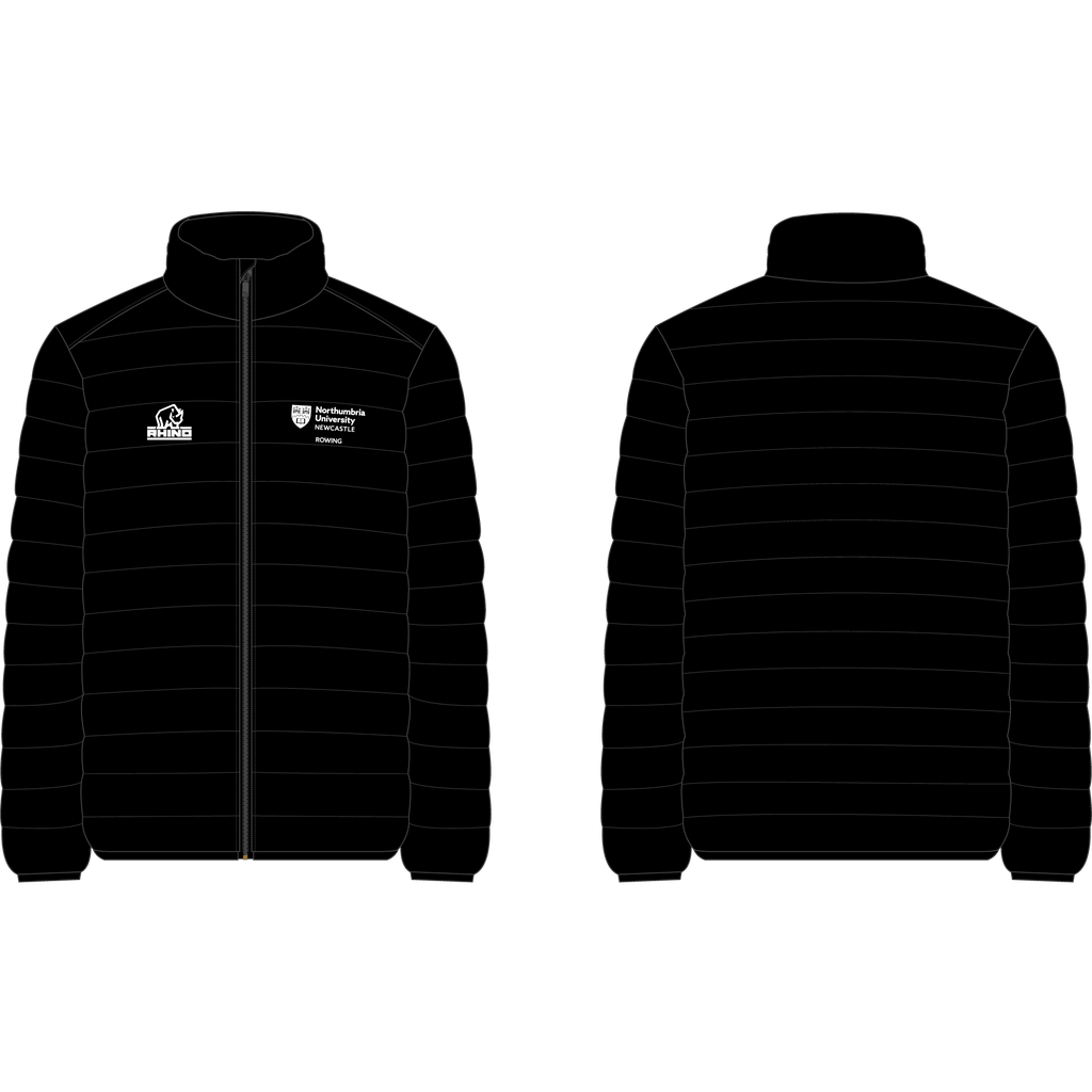 Northumbria Uni Rowing Puffa Jacket