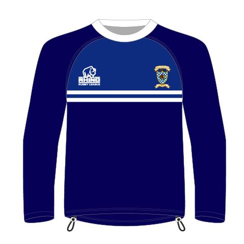 Queensbury ARLFC Senior Smock Training Top - rhino-direct-2.myshopify.com