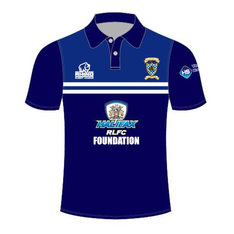 Queensbury ARLFC Senior Polo Shirt - rhino-direct-2.myshopify.com