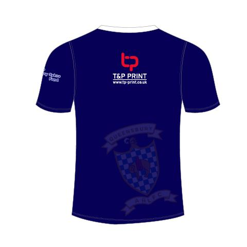 Queensbury ARLFC Senior T-shirt - rhino-direct-2.myshopify.com