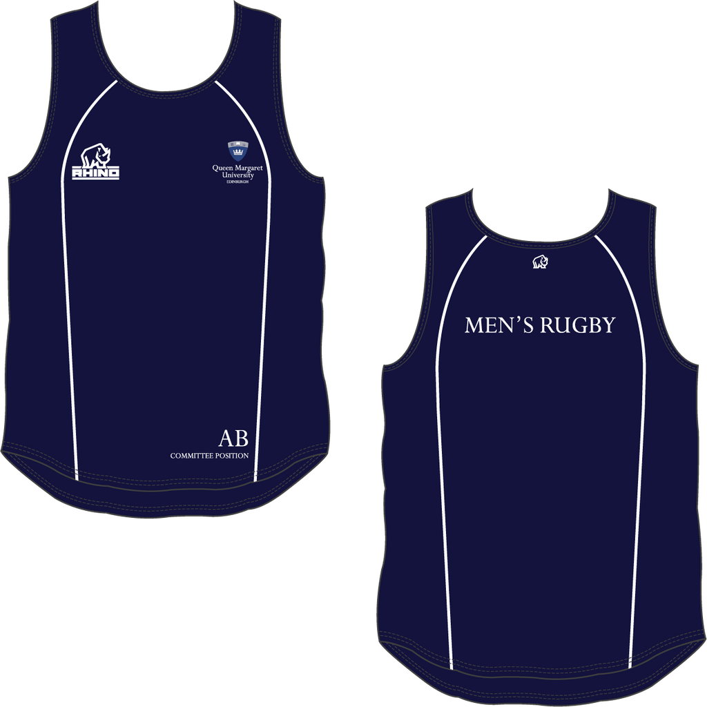 Queen Margaret University Men's Rugby Rio Vest - rhino-direct-2.myshopify.com