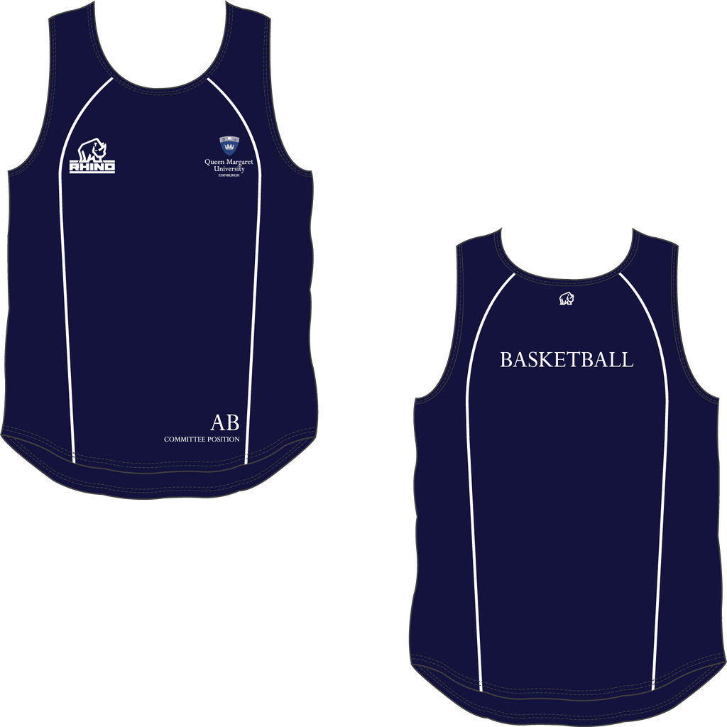 Queen Margaret University Basketball Rio Vest - rhino-direct-2.myshopify.com
