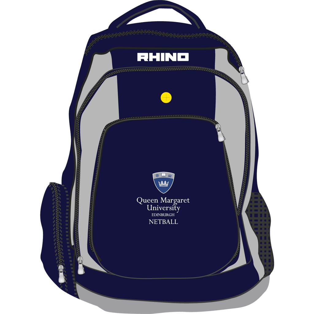 Queen Margaret University Netball Gameday Rucksack