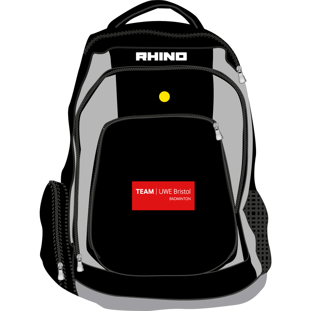 UWE Badminton Gameday Rucksack