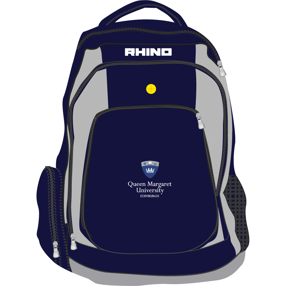 Queen Margaret University Radiography Gameday Rucksack - rhino-direct-2.myshopify.com