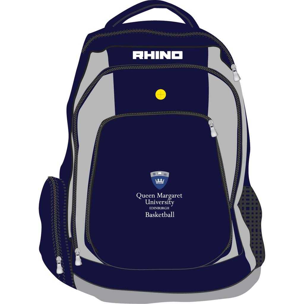 Queen Margaret University Basketball Gameday Rucksack - rhino-direct-2.myshopify.com