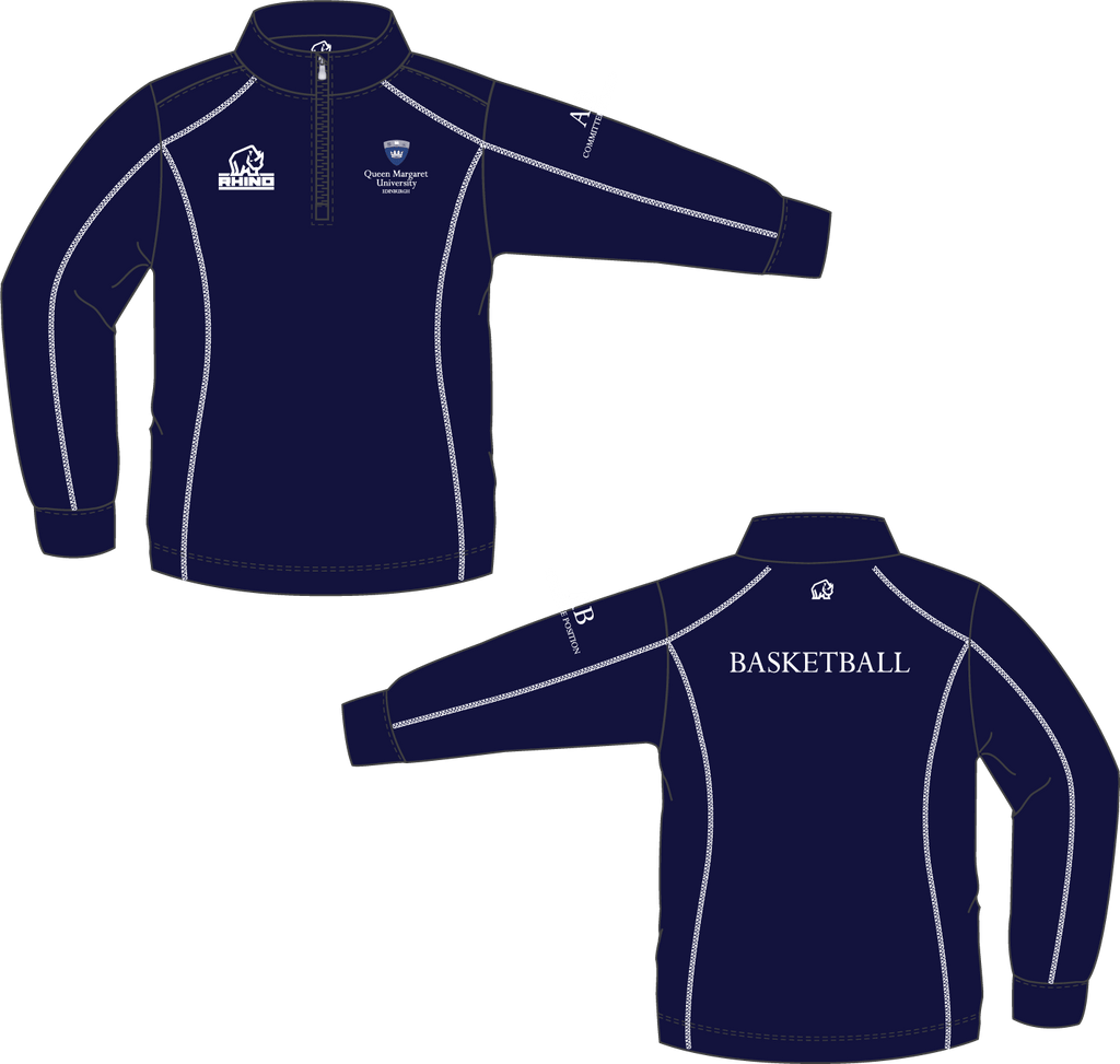 Queen Margaret University Basketball Seville Midlayer - rhino-direct-2.myshopify.com