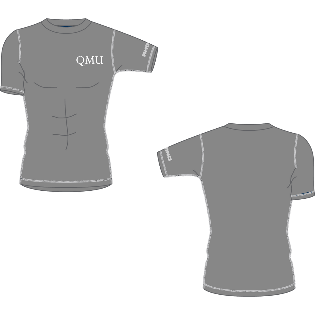 Queen Margaret University Basketball Shortsleeve Baselayer - rhino-direct-2.myshopify.com
