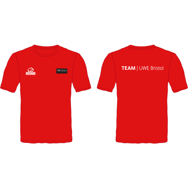 UWE Swimming & Water Polo Performance T-Shirt