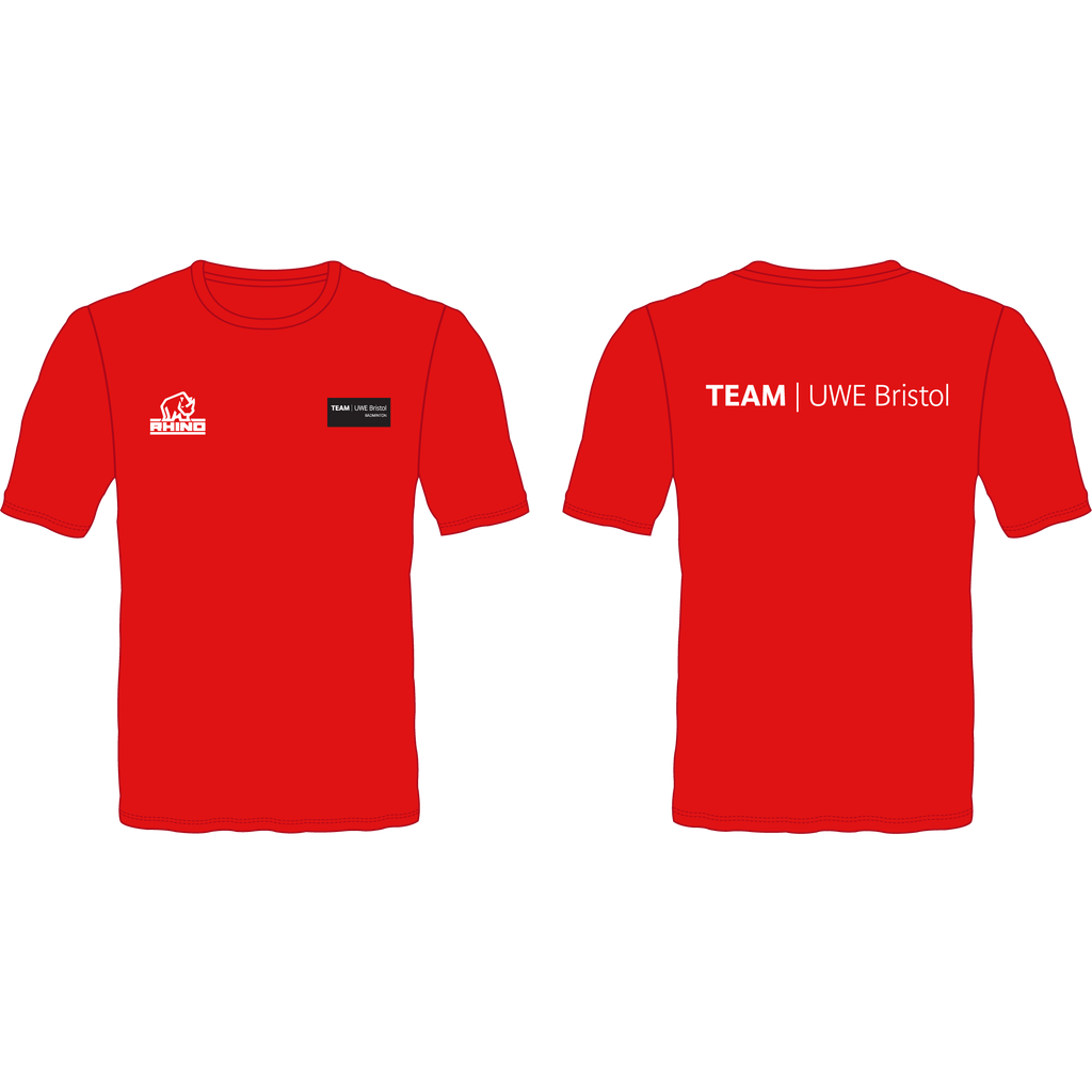 UWE Badminton Performance T-Shirt