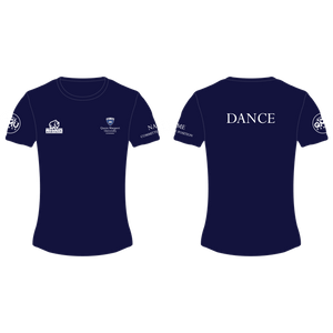 Queen Margaret University Dance Performance T-Shirt