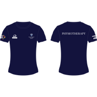 Queen Margaret University Physiotherapy Women's Performance T-Shirt - rhino-direct-2.myshopify.com