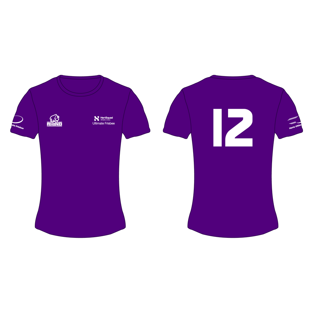 Herts Ultimate Frisbee Women's Performance T-Shirt