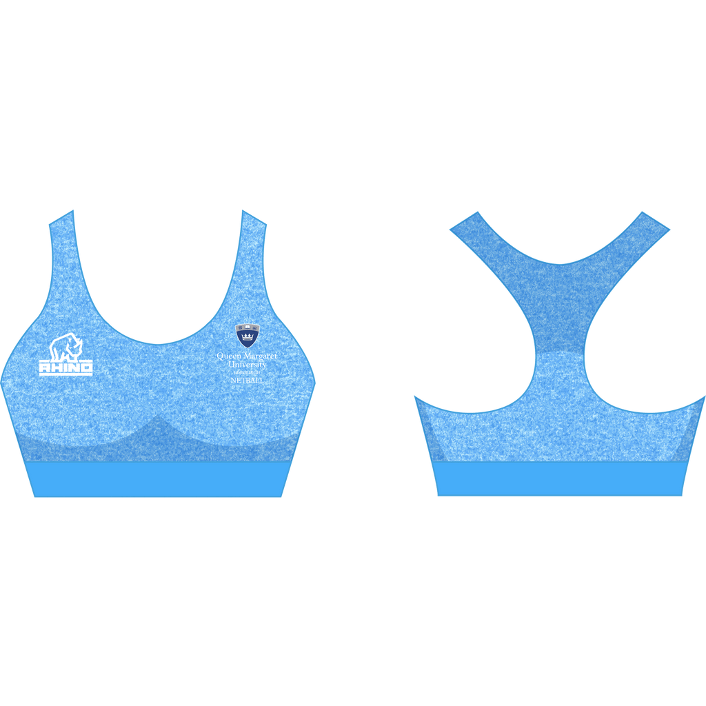 Queen Margaret University Netball Seamless Sport Bra
