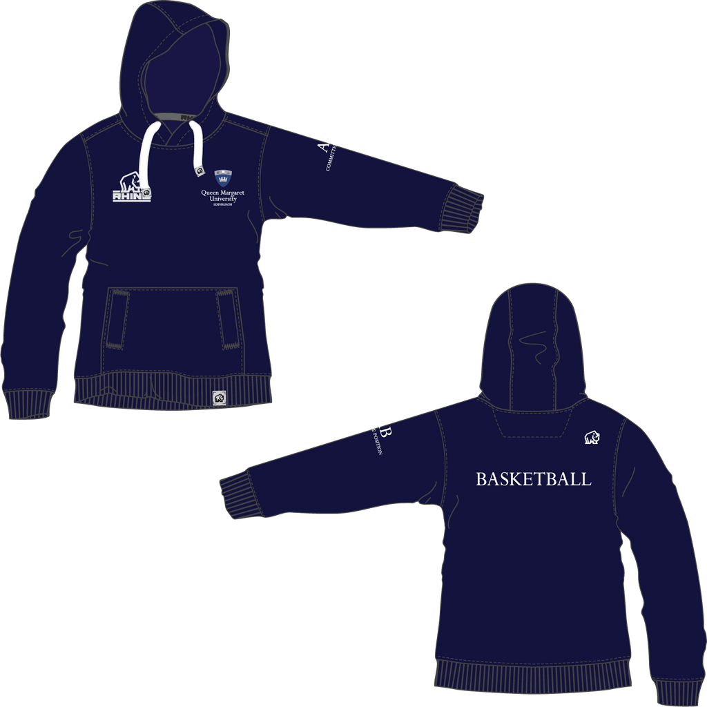 Queen Margaret University Basketball Barcelona Hoodie - rhino-direct-2.myshopify.com