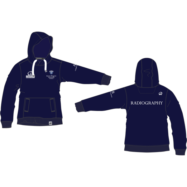 Queen Margaret University Radiography Barcelona Hoodie - rhino-direct-2.myshopify.com