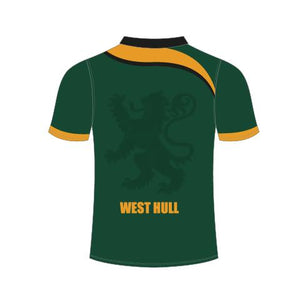 West Hull Senior Sublimated Polo Shirt - rhino-direct-2.myshopify.com