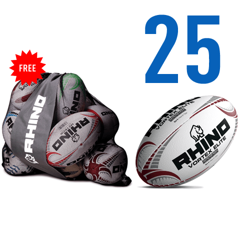 X25 Vortex Elite Match Ball Bundle - rhino-direct-2.myshopify.com