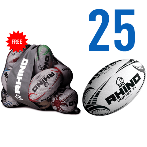 X25 Vortex XV Match Ball Bundle - rhino-direct-2.myshopify.com