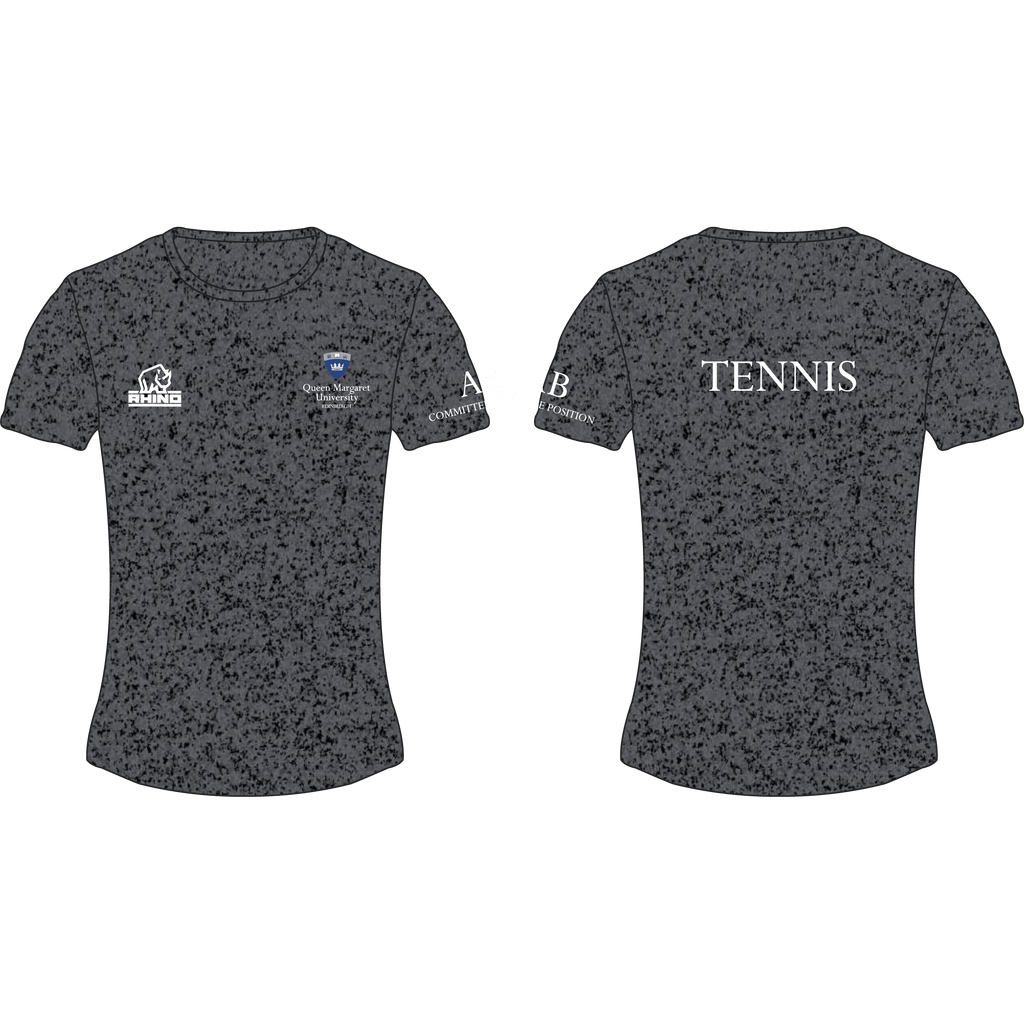 Queen Margaret University Tennis Women's Performance T-Shirt - rhino-direct-2.myshopify.com