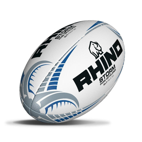 Rhino Storm Pass Developer Training Rugby Ball