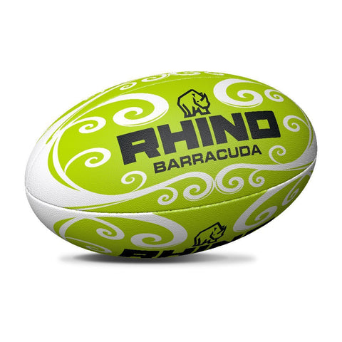 Barracuda Green Beach Rugby Ball - Rhino Direct