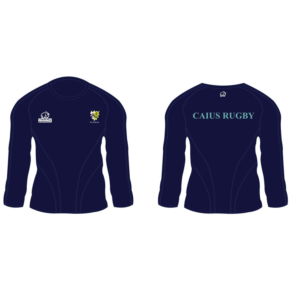 Cambridge University Gonville & Caius Rugby Gemini Long Sleeve T-Shirt