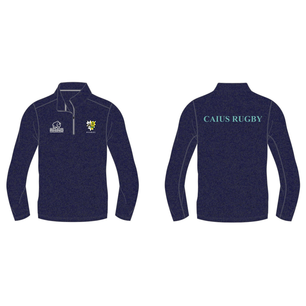 Cambridge University Gonville & Caius Rugby Hyper 1/4 Zip Midlayer