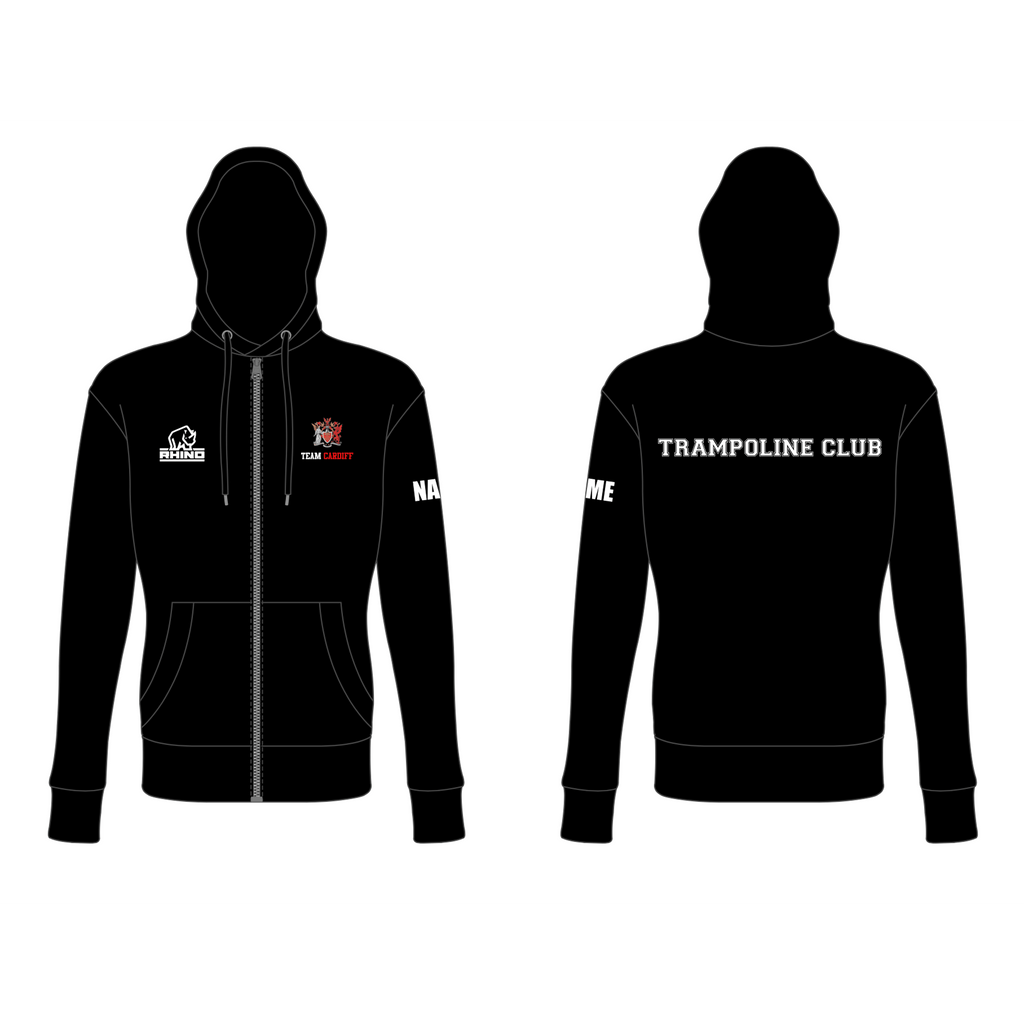 Cardiff Uni Trampoline Club Women's Iconic Full Zip Hoodie