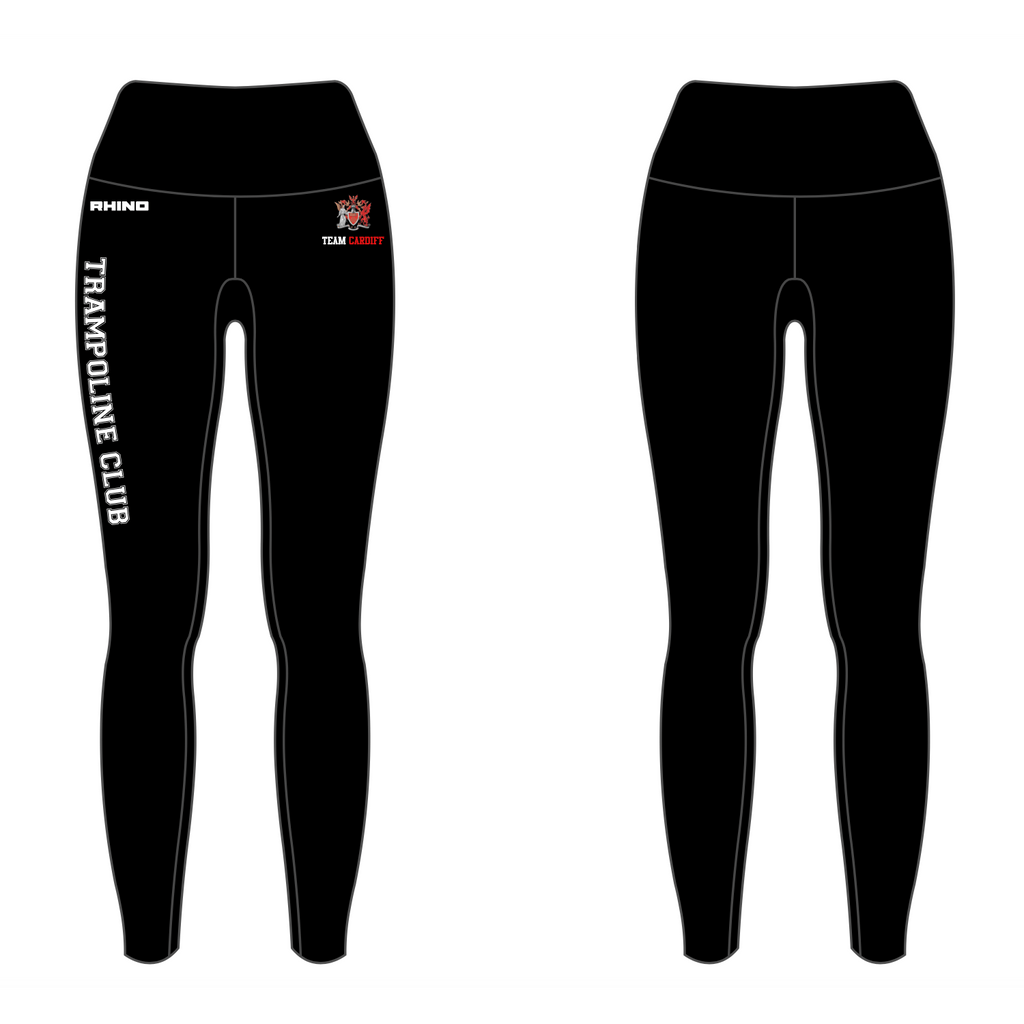 Cardiff Uni Trampoline Club Ladies Leggings