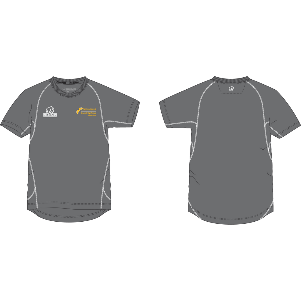 Newport High School Rugby Academy Year 13 Lunar T-Shirt