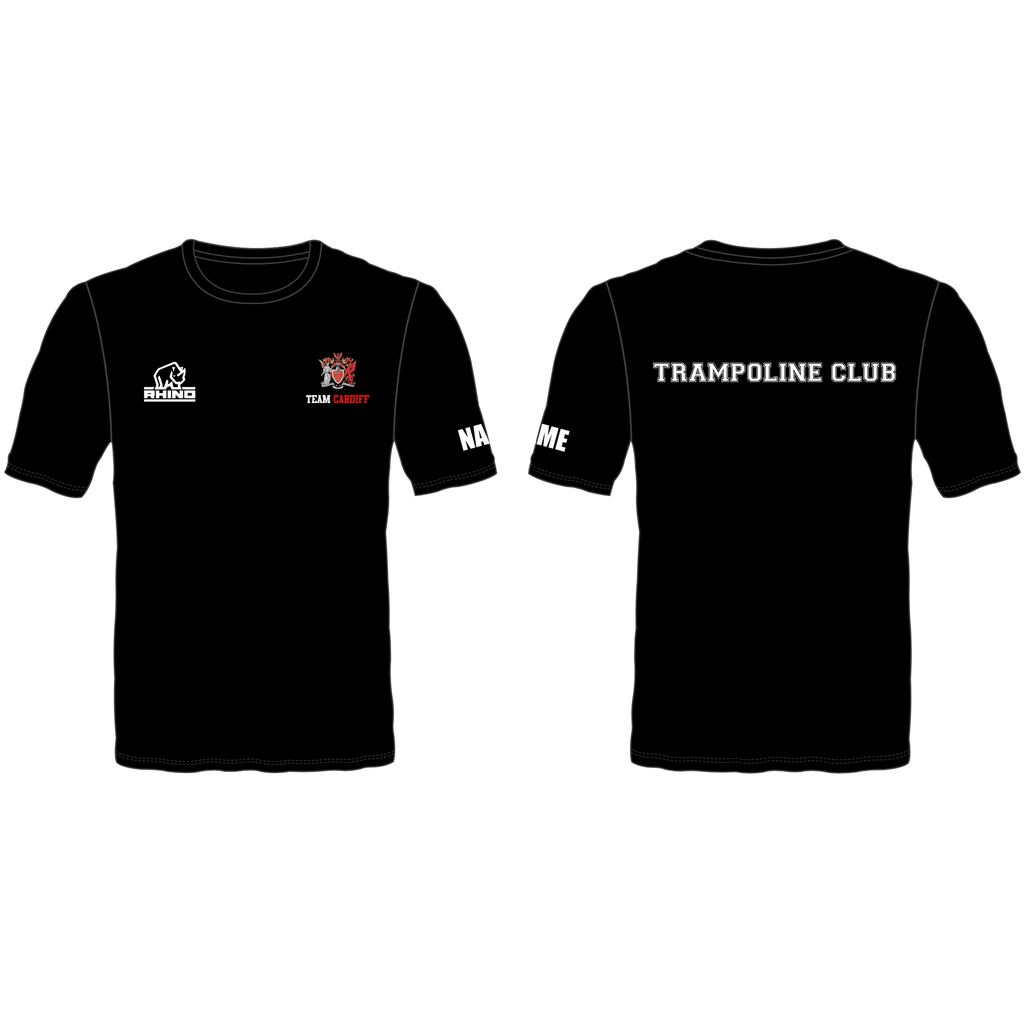 Cardiff Uni Trampoline Club Performance T-Shirt