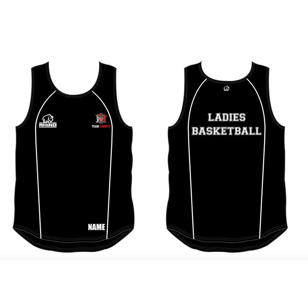 Cardiff Uni Ladies Basketball Rio Vest
