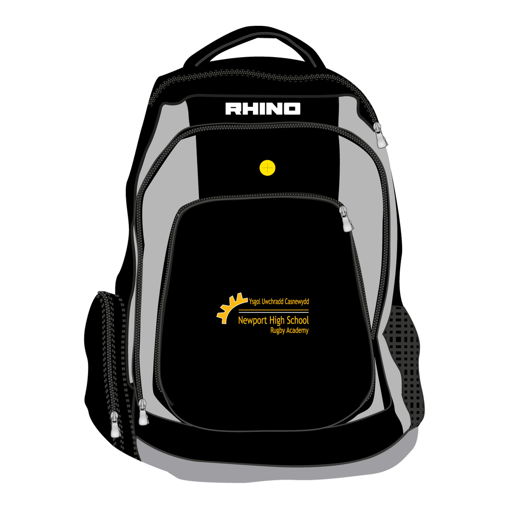 Newport High School Rugby Academy Year 12 Gameday Rucksack