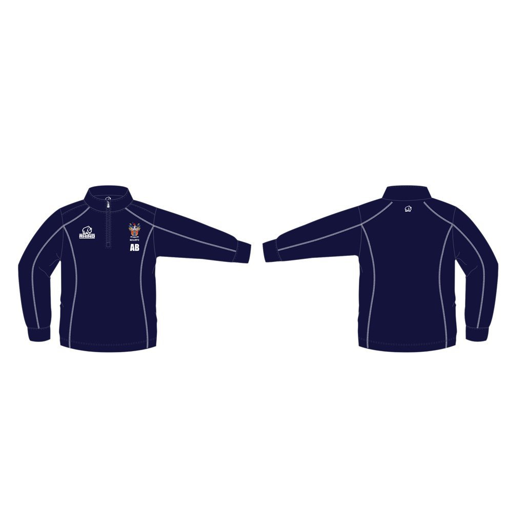 King's College London RFC Seville 1/4 Zip Midlayer