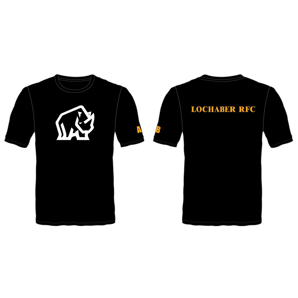 Lochaber RFC Junior Softstyle Youth Ringspun T-Shirt