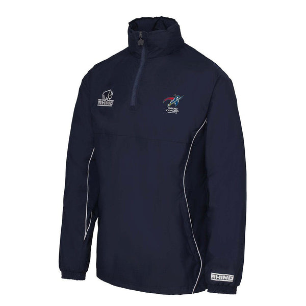 Oxford Cavaliers RLFC Hurricane 1/4 Zip Rain Jacket