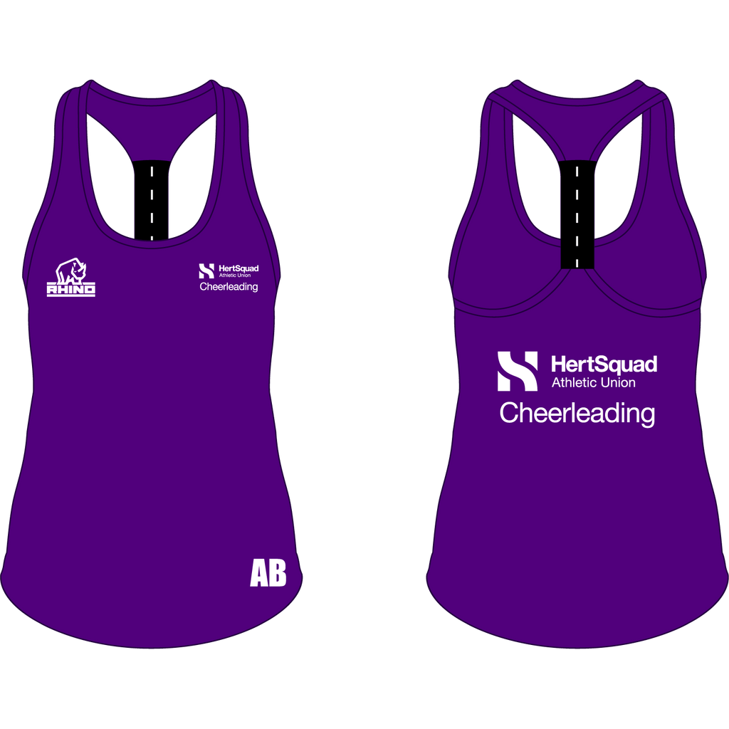 Herts Cheerleading Performance Strap Back Vest