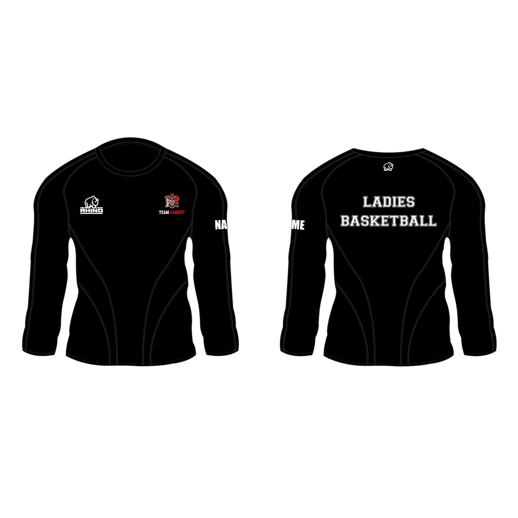 Cardiff Uni Ladies Basketball Gemini Long Sleeve T-Shirt