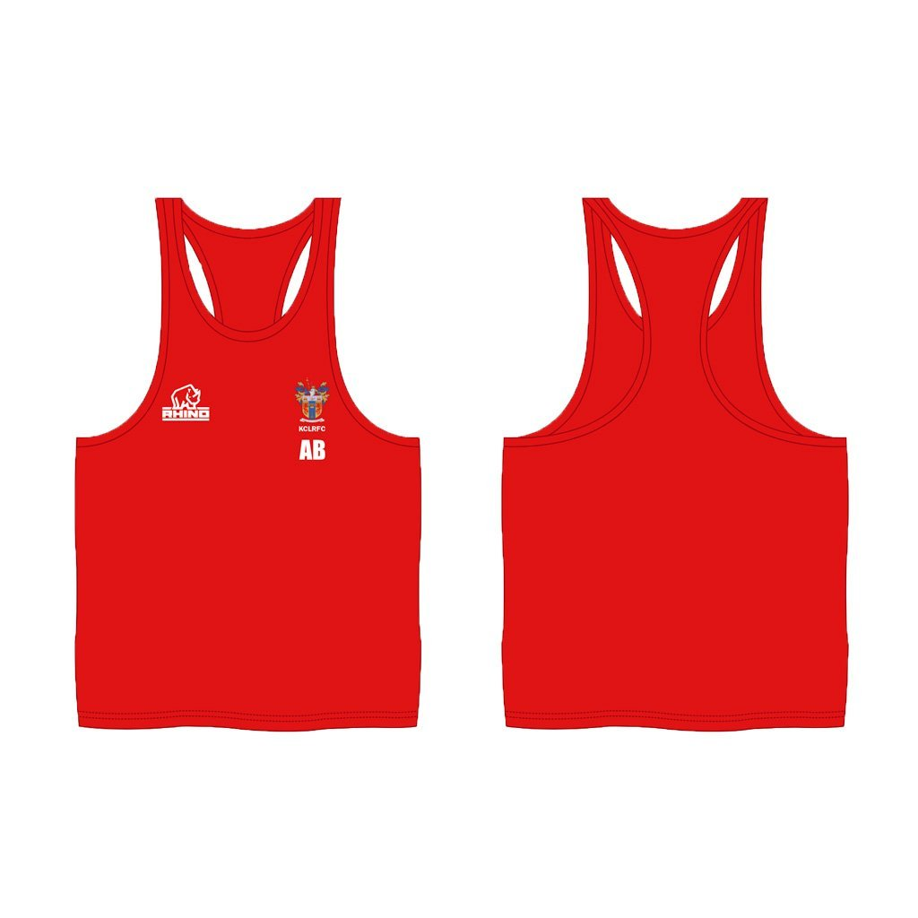 King's College London RFC Muscle Vest