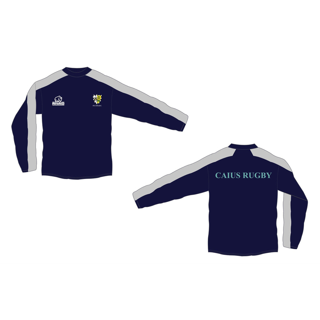 Cambridge University Gonville & Caius Rugby Pro Windbreaker Contact Top