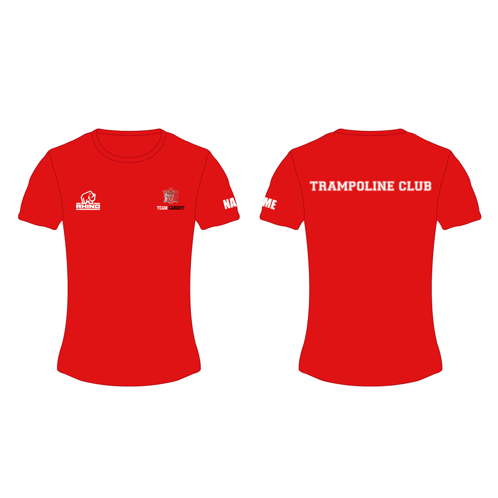 Cardiff Uni Trampoline Club Women's Performance T-shirt