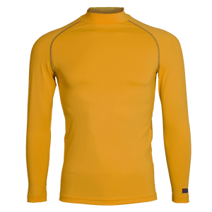 Adult Long Sleeve Turtleneck Baselayer Top - Amber - rhino-direct-2.myshopify.com