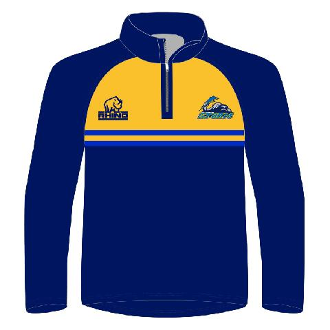Gateshead Storm Junior 1/4 Zip Midlayer - Rhino Direct